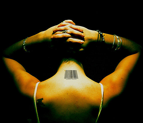 barcode tattoo neck. arcode tattoo on neck; arcode tattoo on neck. the arcode tattoo book.