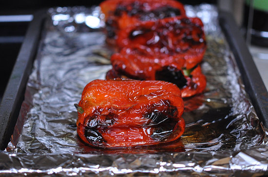 How to Roast Red Peppers | POPSUGAR Food